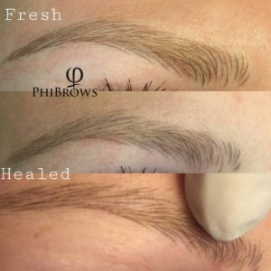 Microblading Eyebrow Healing Process – Phibrows Beauty